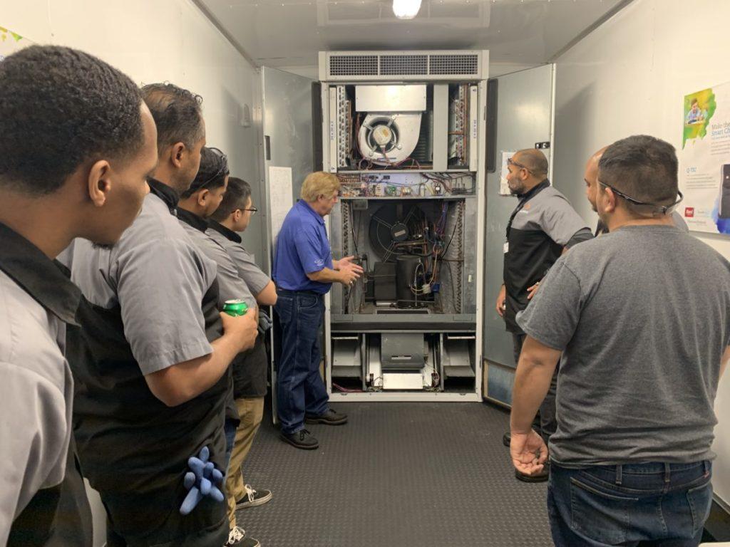 Demonstrating the I-TEC unit