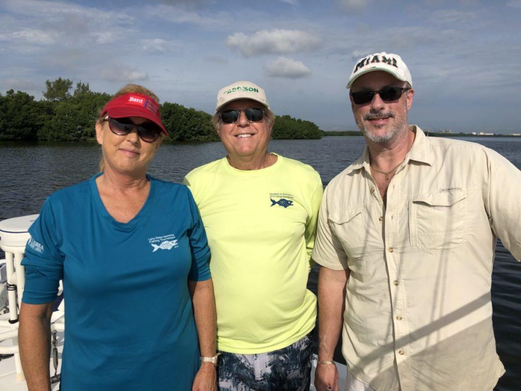 Penny Anderson, AccuAir; Frank Suranyl, AccuAir; Leon Essex, Bard Florida Representative